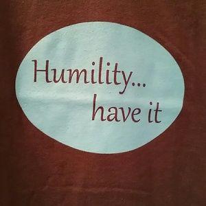 Humility v-neck tee